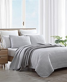 Bali Solid Quilt Set, Twin