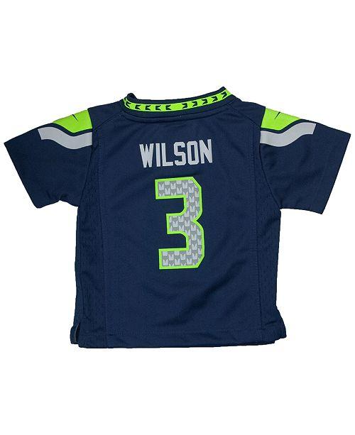 Nike Baby Russell Wilson Seattle Seahawks Game Jersey - Sports Fan ... 937993ed4