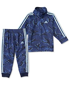 Baby Boys 2-Pc. Action Camo-Print Track Jacket & Pants Set