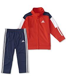 Baby Boys 2-Pc. Tricot Track Jacket & Pants Set