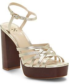 Women's Larriss Woven Platform Sandals