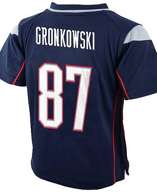 Nike Baby Rob Gronkowski New England Patriots Game Jersey