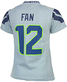 Nike Kids' Twelfth Man Seattle Seahawks Game Jersey, Big Boys (8-20)