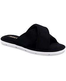 Parke Neoprene Crossband Sandals
