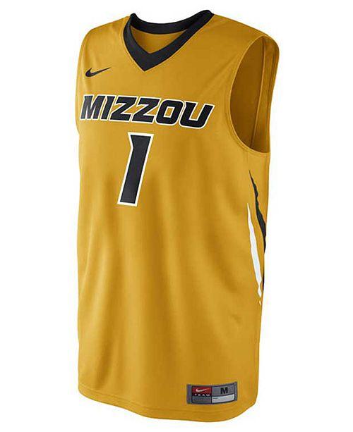 best website 8414c d9f15 Nike Men's Missouri Tigers Basketball Jersey & Reviews ...