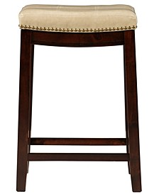"Rumsey 26"" Backless Wood Counter Stool"