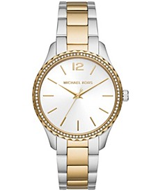 Women's Layton Three-Hand Two-Tone Stainless Steel Bracelet Watch 38mm