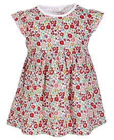 Toddler Girls Garden Floral Cotton Tunic, Created for Macy's