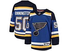 Youth St. Louis Blues Player Replica Jersey - Jordan Binnington
