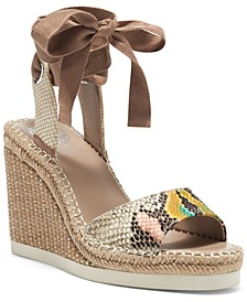 Women's Bendsen Ankle-Wrap Wedge Sandals