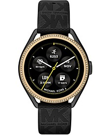 Access Gen 5e MKGO Black Rubber Smartwatch 43mm