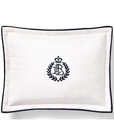 "Carter Embroidery 12"" x 16"" Decorative Throw Pillow"