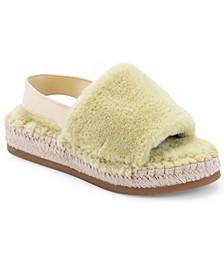 Keya Plush Espadrille Slippers