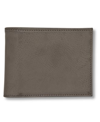 NEW GUESS TAN RFID PROTECTION LEATHER CREDIT CARD ID BILLFOLD LA MEN/'S WALLET