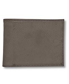Wallet, Baja RFID-Blocking Faux Leather Billfold