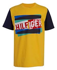 Big Boys Overlap Graphic Short Sleeve T-shirt