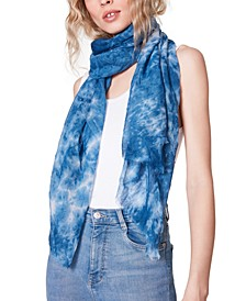 Tie-Dyed Oblong Scarf