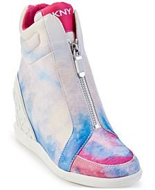 Christi Zip Wedge Sneakers