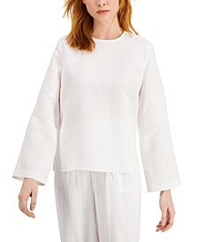 Wide-Sleeve Blouse, Created for Macy's