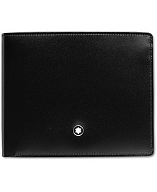 Montblanc Men's Black Leather Meisterstück Wallet 5525