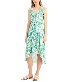 INC Printed High-Low Dress, Created for Macy's