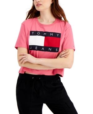 Tommy Jeans LOGO-PRINT T-SHIRT