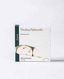Thulisa Naturals Focus Orange-Mint Shower Steamers