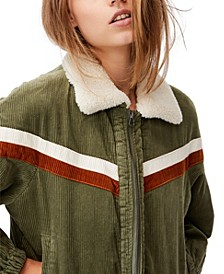 Women's Retro Bomber Jacket
