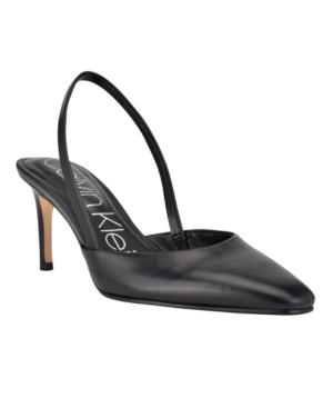 Calvin Klein WOMEN'S CORETA SNIP TOE SANDALS WOMEN'S SHOES