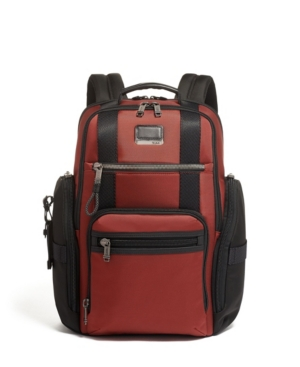 Tumi Men's Alpha Bravo Sheppard Deluxe Backpack In Russet