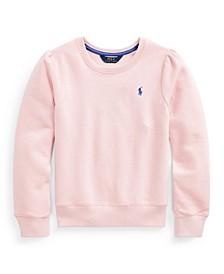 Big Girls Cotton-blend-fleece Sweatshirt