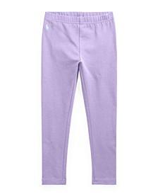 Toddler Girls Stretch Cotton Jersey Legging Pants