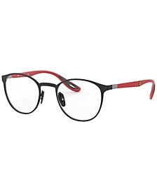 RX6355M Scuderia Ferrari Collection Unisex Phantos Eyeglasses