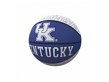 Kentucky Wildcats Repeating Logo Mini-Size Rubber Basketball