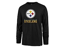 Pittsburgh Steelers Men's Hype Super Rival Long Sleeve T-Shirt