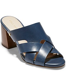 Women's Jodie Block-Heel Mule Sandals