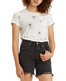 Cotton Printed Pocket T-Shirt