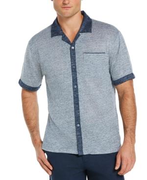 Men's Heathered Camp Shirt