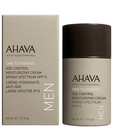 Ahava Men's Age Control Moisturizing Cream Broad Spectrum SPF15