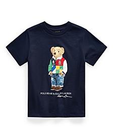 Toddler Boys Polo Bear Cotton Jersey Tee