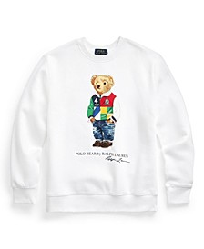 Big Boys Polo Bear Fleece Sweatshirt