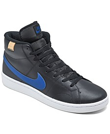 Men's Court Royale 2 Mid High Top Casual Sneakers from Finish Line