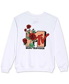 Juniors' MTV Roses-Graphic Sweatshirt