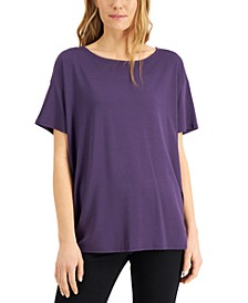 Short-Sleeve Knit Top