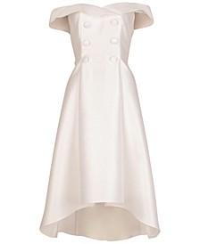 Mikado Tuxedo Dress