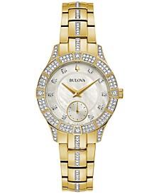 Women's Phantom Gold-Tone Stainless Steel Bracelet Watch 31mm