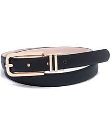 INC Reversible Panel Belt, Created for Macy's