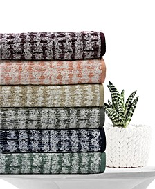 Ultimate Micro Cotton® Mosaic Bath Towel Collection, Created for Macy's