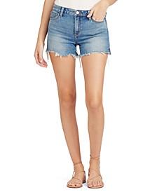 The Ozzie Frayed Denim Shorts