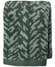 "Ultimate MicroCotton® Herringbone 13"" x 13"" Wash Towel, Created for Macy's"